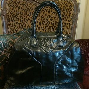 YSL Patent Leather Easy Bag